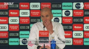 Zinedine Zidane: 'I believe in my players'. DUGOUT