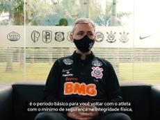 Corinthians avança no retorno aos treinos. DUGOUT