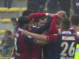 La vittoria del Bologna sul Napoli. Dugout