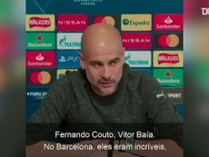 Pep Guardiola comentou sobre o futebol português na véspera do jogo contra o Porto. DUGOUT
