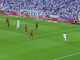 Incrível cabeçada de C. Ronaldo contra o Mallorca. DUGOUT
