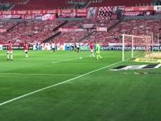 Flamengo drew 2-2. DUGOUT
