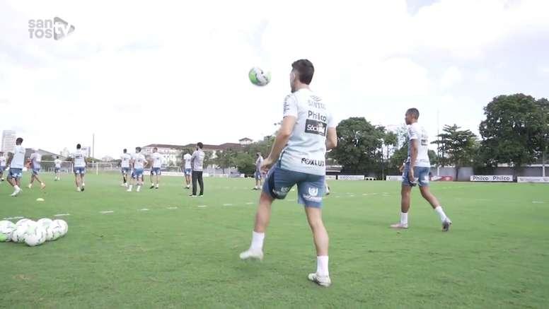 Santos inicia preparação para duelo contra o Fluminense no Brasileirão. DUGOUT
