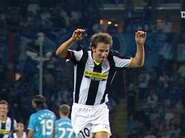 La punizione di Del Piero contro lo Zenit. Dugout