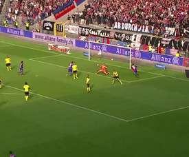 Les meilleurs buts du FC Bâle contre les Young Boys. DUGOUT