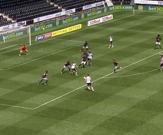 Derby County won 0-1 at Preston back in the 2017/18 Championship. DUGOUT