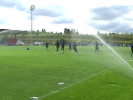 VIDEO: Shot on goal session for Olympique lyonnais players. DUGOUT