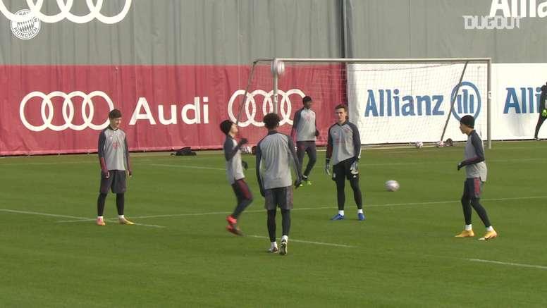 Le Bayern Munich prépare le choc contre l'Atlético. dugout