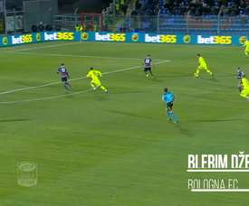 Most of Dzemalli's goals for Bologna came in his first season. DUGOUT