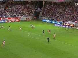 El PSG ha marcado buenos goles ante el Stade de Reims. DUGOUT