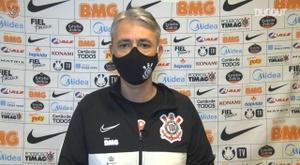 Tiago Nunes exalta empenho do Corinthians. DUGOUT