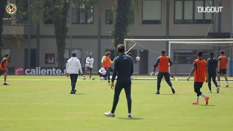 Ochoa's header goal and assist in training. DUGOUT