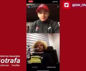 VÍDEO: Valderrama recordó su paso por DIM. DUGOUT