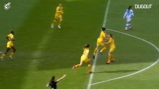 Barcelona won 10-1. DUGOUT