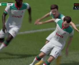 El Lokomotiv de Moscú derrota al Leyton Orient en el 'FIFA QuaranTeam'. DUGOUT