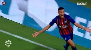 El gol del 4-3 de San Lorenzo frente a Lanús. DUGOUT