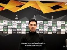 Arteta habló sobre el regreso de los aficionados a las gradas. DUGOUT