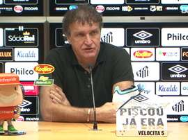 Cuca lamenta empate do Santos com Fortaleza. DUGOUT