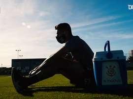 Avelar fala sobre voltar aos gramados contra o Palmeiras. DUGOUT