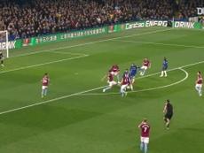 Le superbe but en solo d'Eden Hazard contre West Ham. DUGOUT