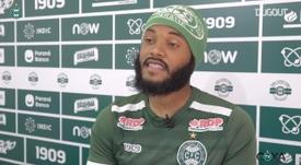 Sabino vê semelhança nos estilos de jogo do Coxa e do Inter. DUGOUT