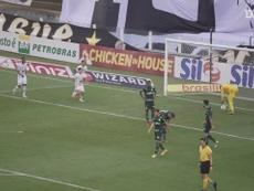 Marinho e Pituca marcam no empate do Santos com o Palmeiras. DUGOUT