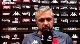 Grasseli fala sobre instabilidade do Vasco. DUGOUT