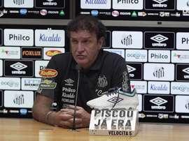 Cuca analisa vitória do Santos sobre o Sport na Vila. DUGOUT