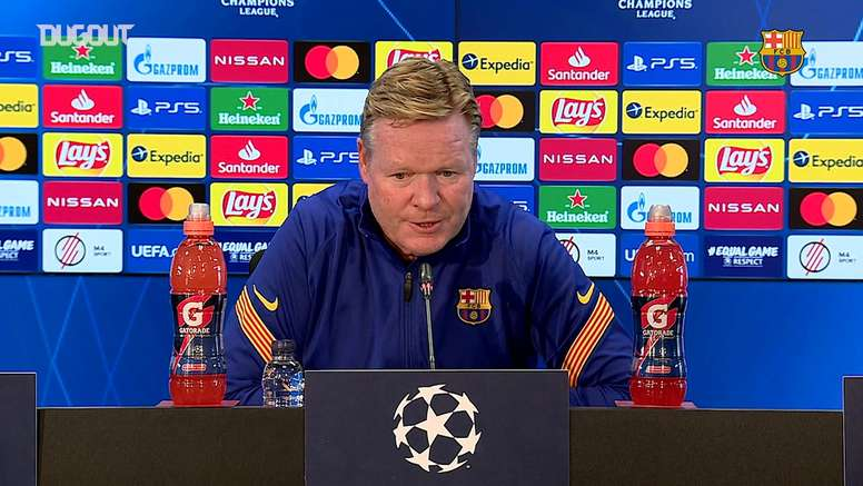 Koeman definiu a lista de convocados sem Leo Messi, Ter Stegen e Philippe Coutinho. DUGOUT