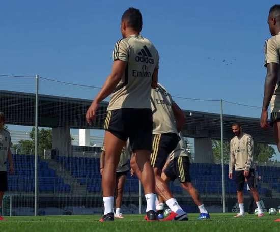 Casemiro se destaca em treinos do Real Madrid. DUGOUT