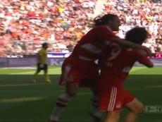 VIDEO : La belle volée de Luca Toni contre l'Eintracht. Dugout