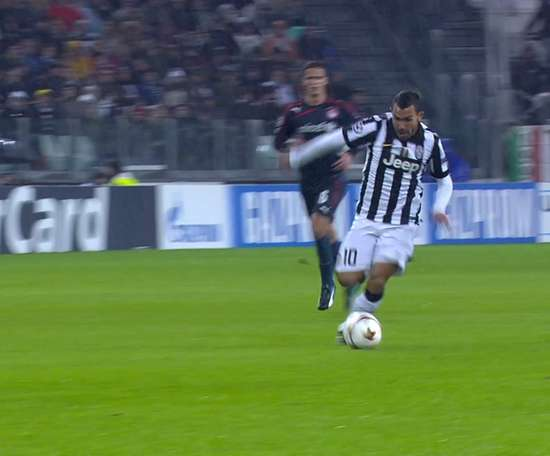 Tevez's best goals and skills for Juventus. DUGOUT