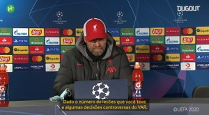 Klopp analisa temporada do Liverpool. DUGOUT