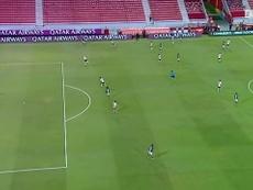 Así consiguió Palmeiras su preciado pase a la final. Captura/DUGOUT