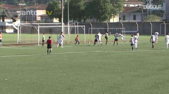 Les meilleurs buts de Matheus Moraes avec les U15 de Santos. DUGOUT