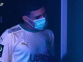 Bastidores da chegada de Luis Henrique no Olympique de Marseille. DUGOUT