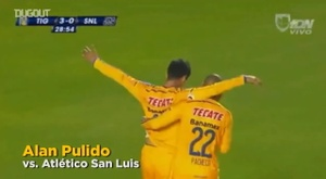 Tigres ganó la Copa MX de 2014. Dugout