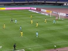 Nishi set up a goal in Daegu's win at Gwangju in the K-League. DUGOUT