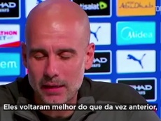 Guardiola fala sobre lesão de Gabriel Jesus e prevê retorno demorado. DUGOUT