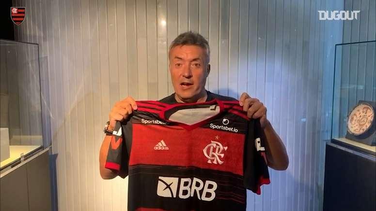 Domènec Torrent manda recado a torcedores do Flamengo. DUGOUT