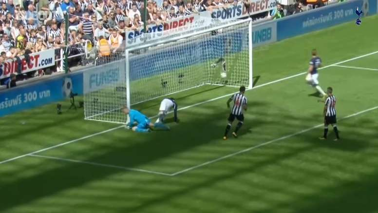Tottenham have scored some brilliant goals at Newcastle. DUGOUT