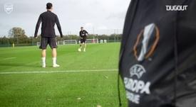 Recuperado de lesão, Gabriel Martinelli treina com bola no Arsenal. DUGOUT