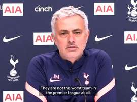 Jose previews Sheffield United clash. DUGOUT