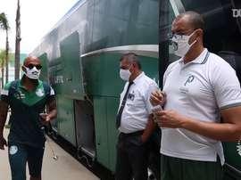 Bastidores da viagem do Palmeiras a Fortaleza para encarar o Ceará. DUGOUT