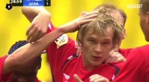 Krasic con la maglia del CSKA. Dugout