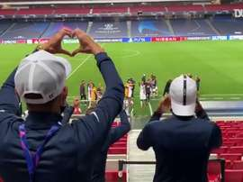 PSG left it late to beat Atalanta 2-1 in Lisbon. DUGOUT