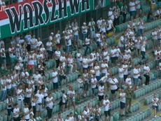 Legia Warszawa lifted the title. DUGOUT