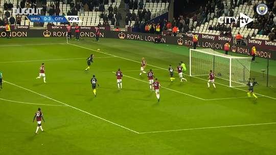 City's best goals away to West Ham. DUGOUT