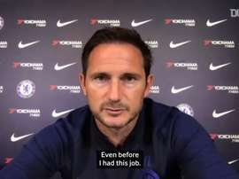VIDEO: Frank Lampard excited at Timo Werner signing. DUGOUT