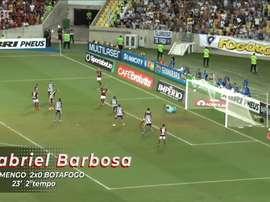 Gabigol marcou 11 gols nas dez primeiras partidas deste ano. DUGOUT